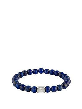 Boss Boss Boss Beads For Him Stainless Steel Magnetic Closure Matt Lapis  ... Picture
