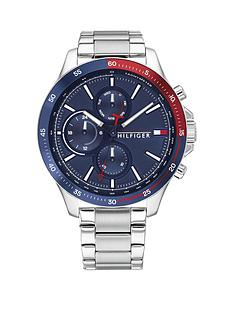 tommy-hilfiger-tommy-hilfiger-bank-stainless-steel-bracelet-navy-sunray-dial-watch