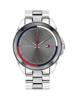 Tommy Hilfiger Tommy Hilfiger Riley Stainless Steel Bracelet Grey Sunray  ... Picture