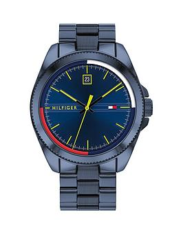 Tommy Hilfiger Tommy Hilfiger Riley Navy Stainless Steel Bracelet Blue  ... Picture