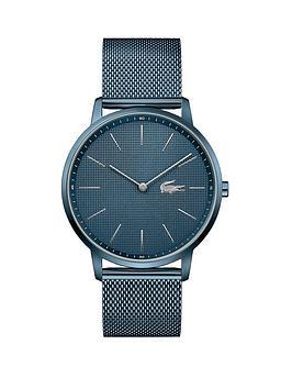 Lacoste Lacoste Moon Ice Blue Mesh Bracelet Blue Dial Mens Watch Picture