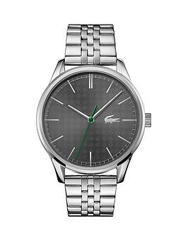 Lacoste Lacoste Vienna Stainless Steel Bracelet Blue Dial Mens Watch Picture