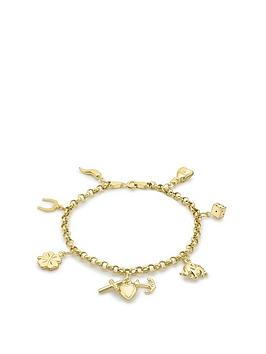 Love GOLD Love Gold 9Ct Gold Lucky Charm Bracelet Picture