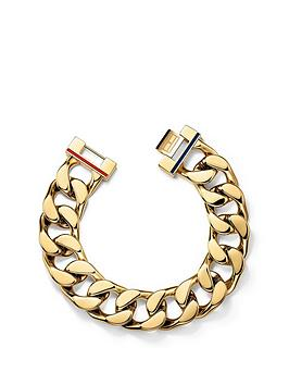 Tommy Hilfiger Tommy Hilfiger Tommy Hilfiger Gold Plated Chunky Chain  ... Picture