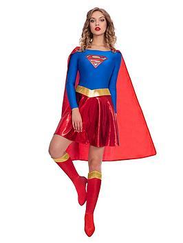 DC Super Hero Girls  Dc Super Hero Girls Womens Supergirl Costume
