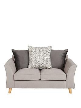 Very Legato Fabric Scatter Back 2 Seater Sofa Picture