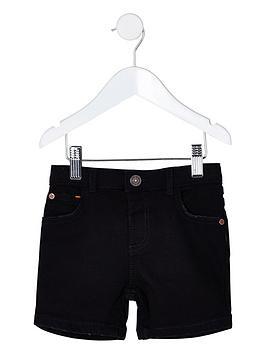 River Island Mini River Island Mini Mini Boys Dylan Slim Denim Shorts -  ... Picture