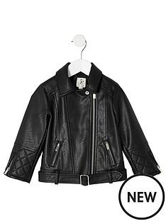 river-island-mini-mini-girls-faux-leather-jacket-black