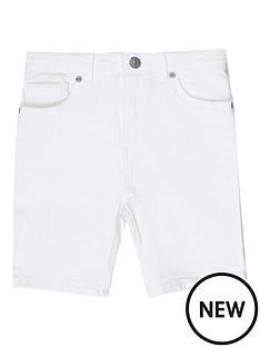 river-island-boys-sid-skinny-shorts-white