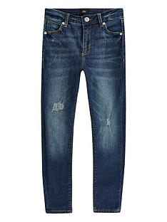 river-island-boys-ollie-spray-on-skinny-jeans--nbspdark-blue