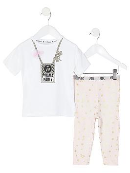 river-island-mini-girls-vip-printed-pyjamas-white