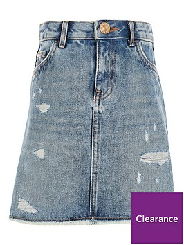 river-island-girls-ripped-a-line-denim-skirt-blue