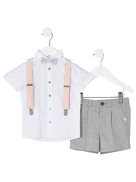River Island Mini River Island Mini Mini Boys Shirt And Shorts Set -  ... Picture