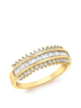 Love GOLD Love Gold 9Ct Gold Cubic Zirconia Ring Picture