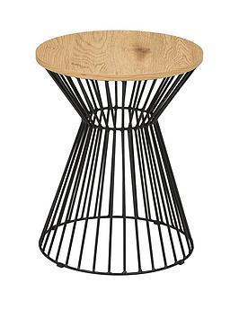 Julian Bowen Julian Bowen Jersey Round Wire Side Table Picture