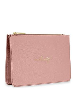 Katie Loxton Katie Loxton Stylish Structured Pouch - Hello Beautiful Picture