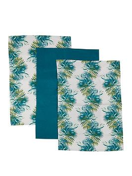premier-housewares-winter-palm-set-of-3nbsptea-towels