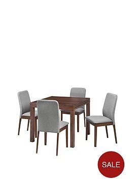 julian-bowen-melrose-90-180-cmnbspextending-tablenbspnbsp4-berkley-chairs