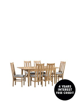 julian-bowen-cotswold-140-180-cm-extending-dining-table-6-chairs
