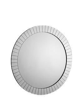 Julian Bowen Julian Bowen Sonata Round Wall Mirror Picture