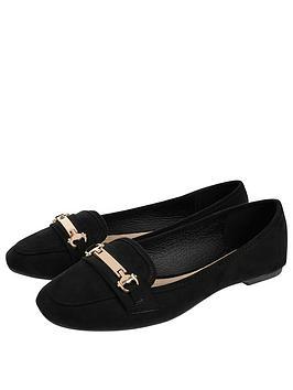Accessorize Accessorize Snaffle Detail Shoes - Black Picture