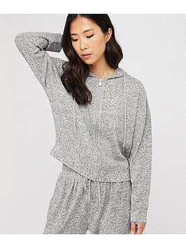 Accessorize Accessorize Lounge Hoodie - Grey Marl Picture