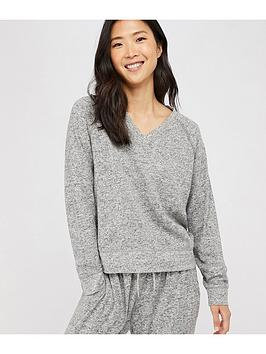 Accessorize Accessorize Lounge Sweatshirt - Grey Marl Picture