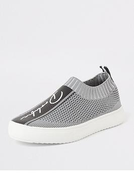 river-island-boys-prolific-knitted-runner-trainers-grey