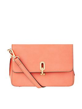 Accessorize   Carly Crossbody Bag - Coral
