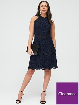 whistles-halter-neck-talie-lace-dress-black