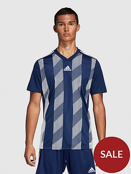 adidas-striped-t-shirt-blue