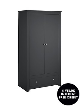 julian-bowen-radley-2-door-combination-wardrobe-anthracite
