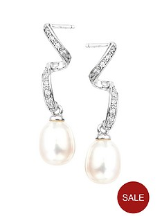love-pearl-rhodium-plated-sterling-silver-white-cubic-zirconia-and-freshwater-pearl-swirl-stud-earrings