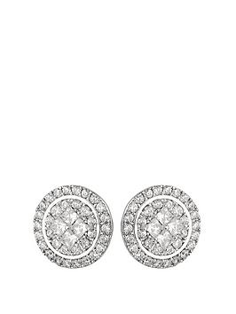 the-love-silver-collection-rhodium-plated-sterling-silver-white-cubic-zirconia-round-stud-earrings