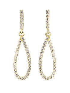 love-gold-9ct-yellow-gold-white-cubic-zirconia-teardrop-stud-earrings