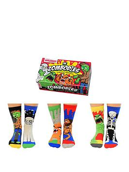 Very United Oddsocks - Zombodies - Kids Picture
