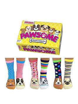 Very United Oddsocks - Pawsome Picture