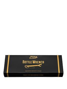 Iron & Glory Iron & Glory Gold Wrench Berr Bottle Opener Keyring Picture