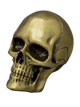 Iron & Glory Iron & Glory Gold Skull Bottle Opener Picture