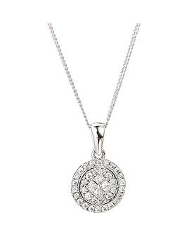 the-love-silver-collection-rhodium-plated-sterling-silver-white-cubic-zirconia-round-pendant-on-18-inch-curb-chain