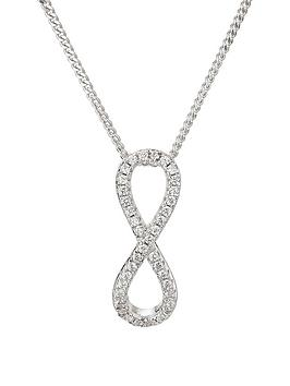 the-love-silver-collection-rhodium-plated-sterling-silver-white-cubic-zirconia-infinity-pendant-on-18-inch-curb-chain