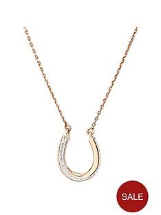 evoke-evoke-rose-gold-sterling-silver-swarovski-crystal-twisted-horseshoe-necklace