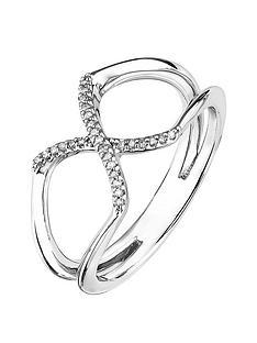 love-diamond-rhodium-plated-silver-004ct-diamond-kiss-ring