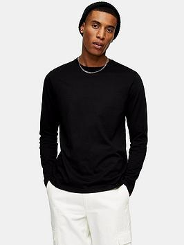 topman-classic-long-sleeve-t-shirt-black