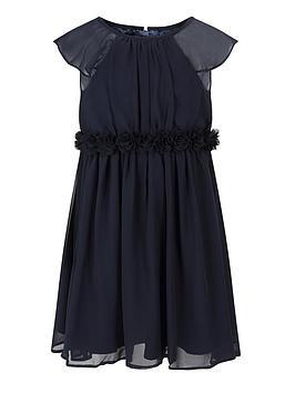 chi chi london Chi Chi London Girls Tamatha Dress - Navy Picture