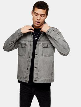 Topman Topman Denim Jacket - Grey Picture