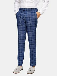 topman-skinny-fit-check-suit-trousers-bluenbsp