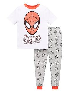 spiderman-boysnbspthe-amazing-spiderman-pjnbspset-multi
