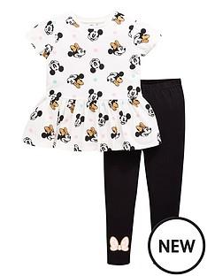 minnie-mouse-girls-minnie-mouse-peplum-top-and-legging-set-whiteblack