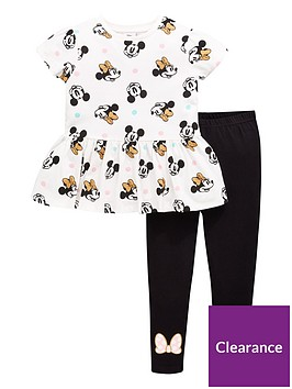 minnie-mouse-girls-minnie-mouse-peplum-top-and-legging-set-whiteblack
